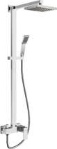 Sapho LATUS sprchový sloup s pákovou baterií, chrom 1102-03