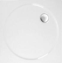 Polysan TOSCA sprchová vanička akrylátová, čtverec 80x80x4cm, bílá 52111