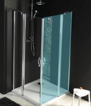 Gelco ONE sprchové dveře s pevnou částí 900 mm, čiré sklo GO4890
