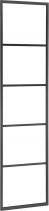 Sapho SKA sušák ručníků na opření 420x1700x20mm, černá mat SKA551