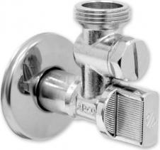 Arco ARCO rohový ventil A-80 1/2'x3/4' s filtrem, chrom A-80 FILTER