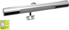 Aqualine ANDREA LED svítidlo, 5W, 284x32x134mm, chrom E26716CI