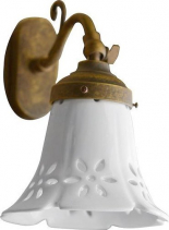 Sapho MARSALA svítidlo E14, 40W, 230V, keramické stínítko, bronz MC077