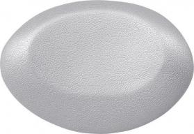 Polysan UFO podhlavník do vany 25x18cm, stříbrná 250082