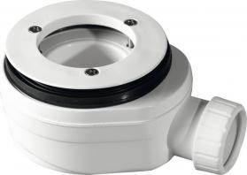 Gelco GELCO vaničkový sifon, průměr otvoru 90 mm, DN40, nízký, pro vaničky s krytem PB90EXN MINUS