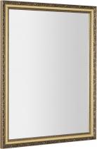 Sapho BOHEMIA zrcadlo v dřevěném rámu 686x886mm, zlatá NL483