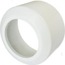 Nicoll Česká republika, s.r.o. Krycí rozeta vysoká, pro připojovací kusy přímé a odtoková kolena, dělená PR7095C (58302010018)