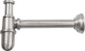 Reitano Rubinetteria Umyvadlový sifon 1'1/4, odpad 32mm, nikl 9598