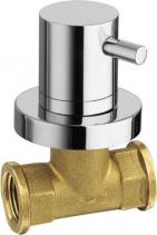 Reitano Rubinetteria AIRTECH podomítkový ventil, studená, chrom 405C