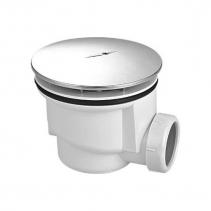 Aqualine Vaničkový sifon, průměr otvoru 90 mm, DN40, krytka ABS/chrom PF408