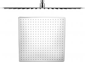 Sapho SLIM hlavová sprcha, čtverec 500x500mm, leštěný nerez MS565
