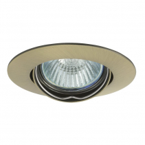 Sapho LUTO podhledové svítidlo výklopné, 50W, 12V, bronz 02594