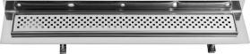 Sapho CORNER 67 nerezový sprchový kanálek s roštem, ke zdi 670x130x82 mm FP405