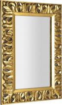 Sapho ZEEGRAS zrcadlo v rámu, 70x100cm, zlatá IN448