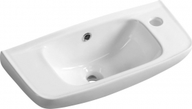 Aqualine Keramické umývátko 51x22cm 10TP70051