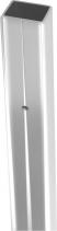 Polysan ZOOM LINE rozšiřovací profil stěnového profilu otočných dvěří, 20mm ZL920