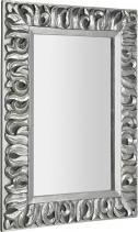Sapho ZEEGRAS zrcadlo v rámu, 70x100cm, stříbrná IN432