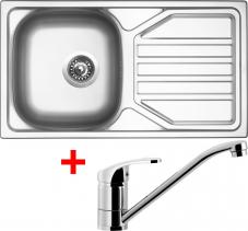 Nerezový dřez Sinks OKIO 780 V+PRONTO OK780VPRCL