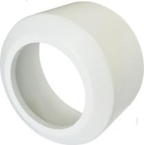 Nicoll Česká republika, s.r.o. Krycí rozeta vysoká, pro připojovací kusy přímé a odtoková kolena, dělená, PP PR7095C (58302010018)