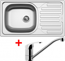 Nerezový dřez Sinks CLASSIC 760 5V+PRONTO CL7605VPRCL