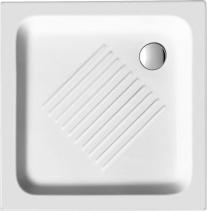 GSI Keramická sprchová vanička, čtverec 70x70x10cm 437011