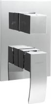 Sapho GINKO podomítková sprchová baterie, 3 výstupy, chrom 1101-44
