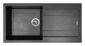 Granitový dřez Sinks AMANDA 990 Metalblack TLAM99050074
