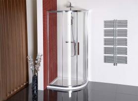 Polysan LUCIS LINE čtvrtkruhová sprchová zástěna 900x800mm, L/R DL5215