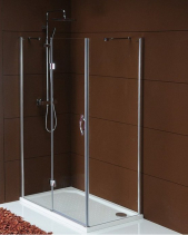 Gelco Legro čtvercový sprchový kout 1000x1000mm L/P varianta GL1110GL5610