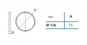 Cata Zpětná klapka 120mm 01920600
