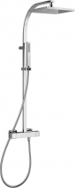 Alpi UNA sprchový sloup s termostatickou baterií, chrom UN57SP2151