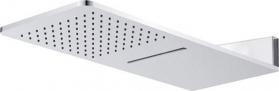 Mereo Talířová sprcha horní, s vodopádem, hranatá 600 x 251 mm, nerez CB495