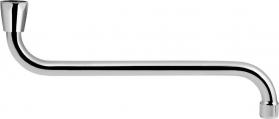 Aqualine Universální výtokové ramínko kbaterii, 31cm, typ-S, chrom 15S300