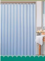 Aqualine Závěs 180x200cm, 100% polyester, jednobarevný modrý 0201104 M