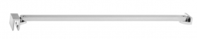 Polysan Vzpěra k MS rohová 750 mm, chrom MSBR5