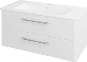Sapho PURA umyvadlová skříňka 96, 6x50, 5x48, 5cm, bílá PR101