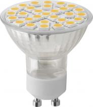 Sapho Led LED bodová žárovka 8W, GU10, 230V, teplá bílá, 680lm LDP810