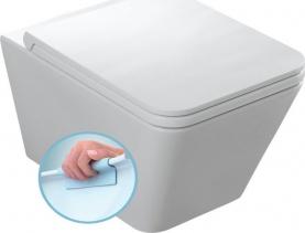 Alice Ceramica ICON WC mísa závěsná, rimless, 36x55 cm 31210101