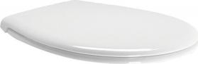 GSI CLASSIC WC sedátko, Soft Close, bílá/chrom MSC87CN11