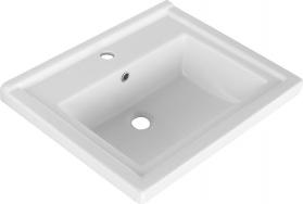 Aqualine ZENO 60 nábytkové umyvadlo 60x48, 5cm 8060