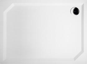 Gelco SARA sprchová vanička z litého mramoru, obdélník 100x75x3, 5 cm, hladká HS10075