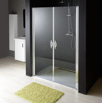 Gelco ONE sprchové dveře do niky dvoukřídlé 1180-1220 mm, čiré sklo, 6 mm GO2812