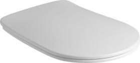 Kerasan NOLITA WC sedátko SLIM Soft Close, duroplast, bílá 539101