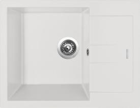 Granitový dřez Sinks AMANDA 650 Milk TLAM65050028