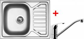 Nerezový dřez Sinks OKIO 650 V+PRONTO OK650VPRCL