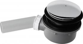 Kerasan RETRO vaničkový sifon, průměr otvoru 90 mm, krytka chrom 905601