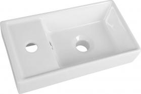 Aqualine Keramické umývátko 40x22x8cm DD4022