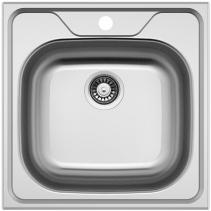 Nerezový dřez Sinks CLASSIC 480 V 0,6mm matný STSCLM4804806V