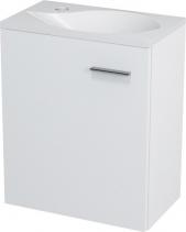 Sapho LATUS II umyvadlová skříňka 41, 6x50x25cm, bílá 55580