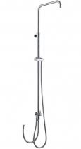 Sapho Sprchový sloup k napojení na baterii, bez pevné a ruční sprchy, chrom 1202-14